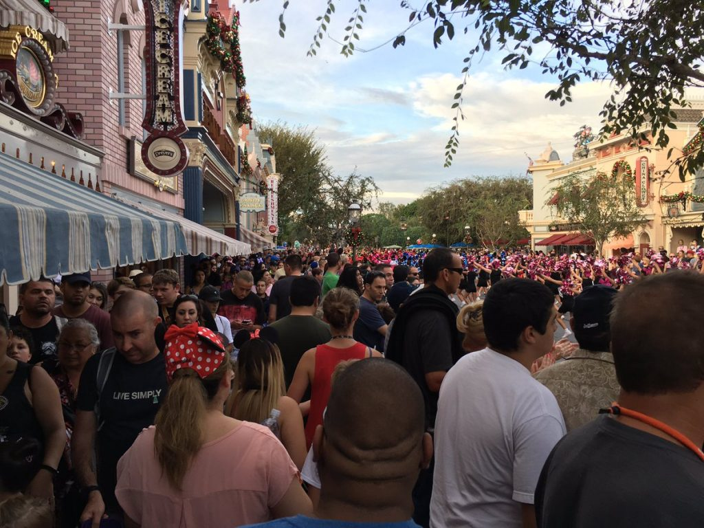 this is what a miserably crowded disneyland looks like bjwilson34