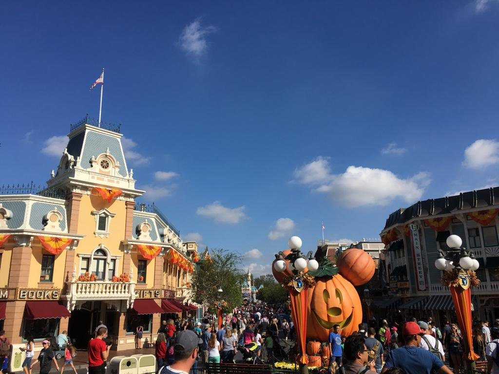 is it busy at disneyland on thanksgiving