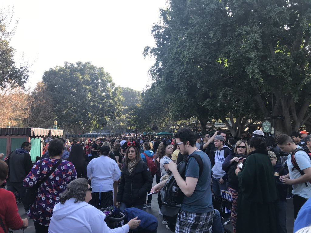 Disneyland at Capacity? Get Used to It for Star Wars Land