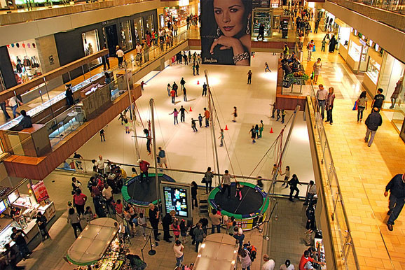 Top 10 busiest shopping malls in america is it packed real time crowd tracking for Burlington coat factory jersey garden mall