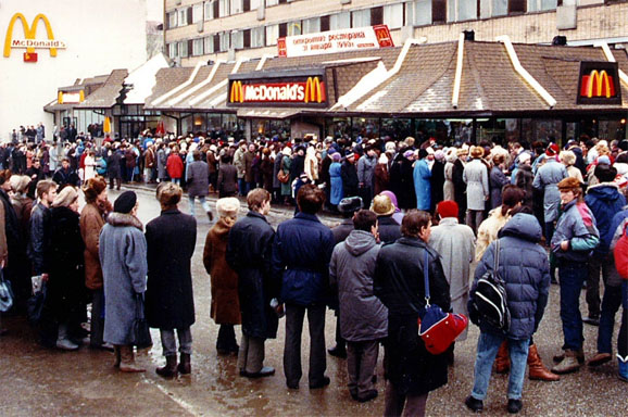 Image result for crowd in mcdonalds