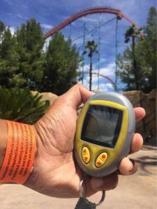 Tamagotchi or Six Flags Flash Pass?