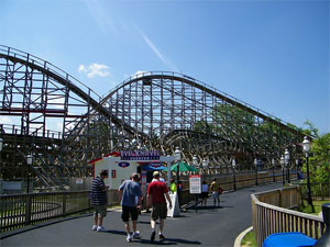 six flags st louis crowds is it packed real time crowd